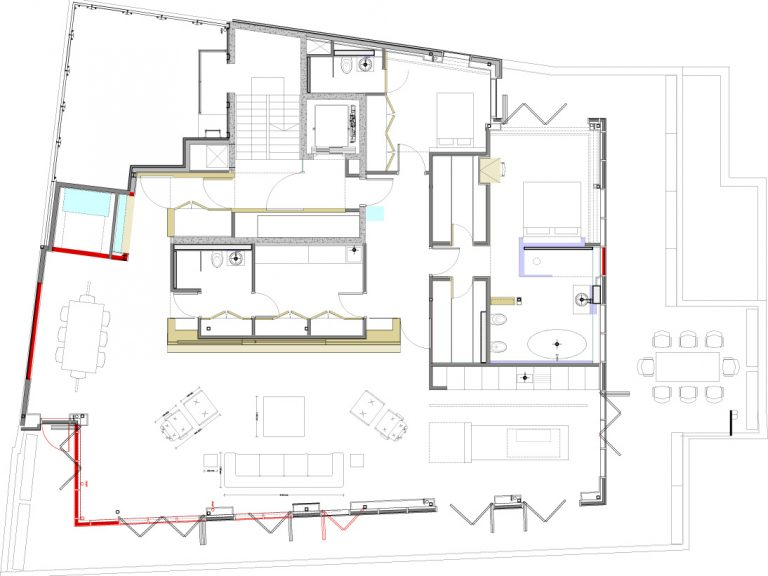 Thornton Allan Interiors Furniture plan layout