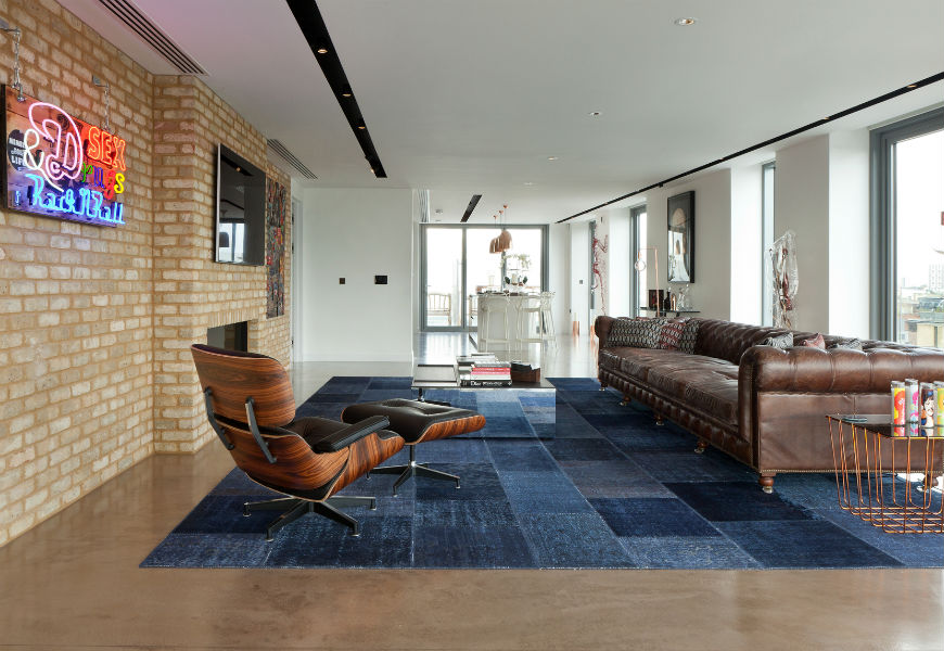 Penthouse Shoreditch - Interior design in London