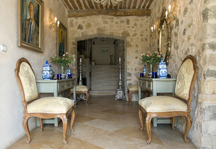 A boutique hotel and wedding venue in the South of France.