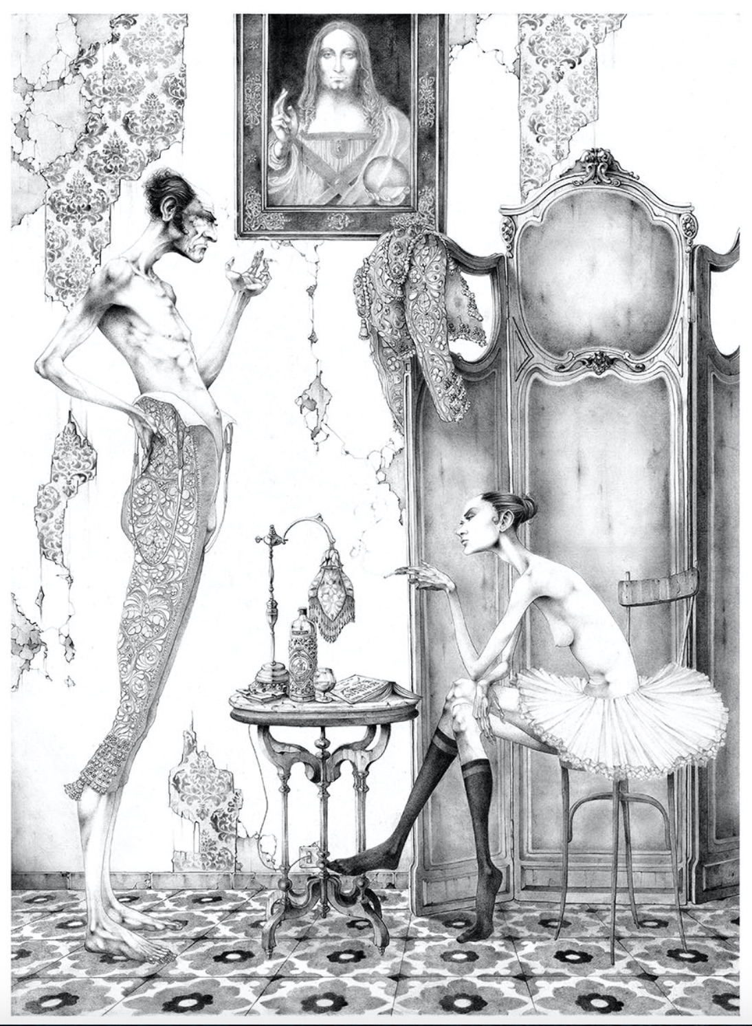 Adolfo Arenas Alonso drawing