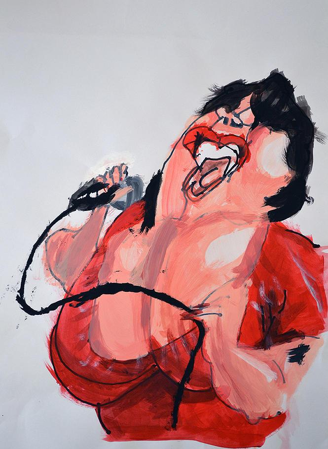 Jake Chodesh Painting