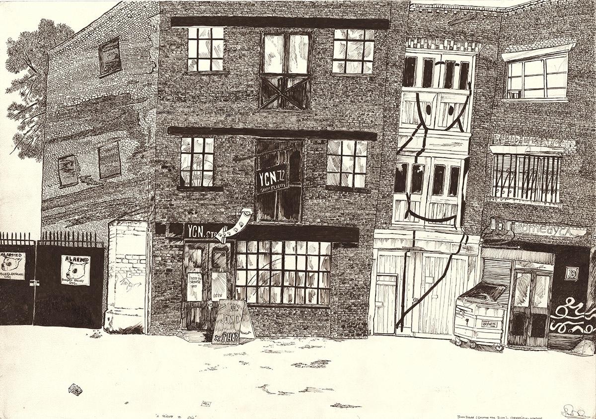 John Dolan drawing